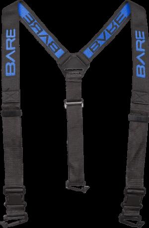 Trzypunktowe szelki z logo Bare